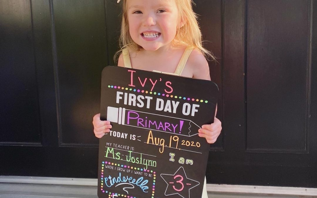 The First Day of School Was Picture Perfect!