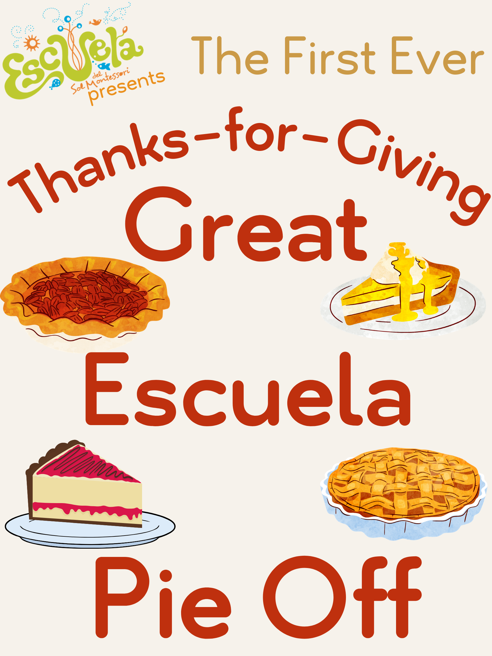Bake Fun Memories with The Great Escuela Pie Off