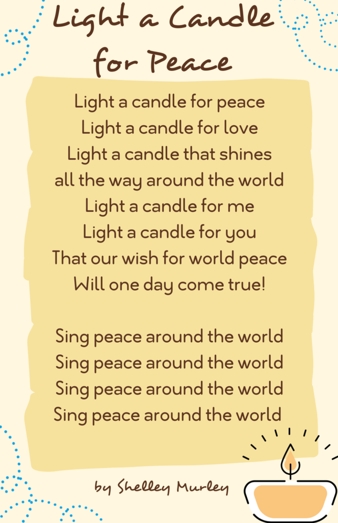 Light a Candle with Us for International Day of Peace
